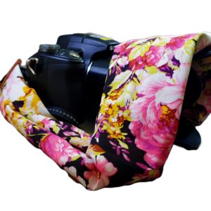 Camera Strap Rose flowers